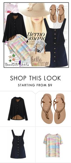"""""""beautifulhalo 142"""" by mamiigou ❤ liked on Polyvore featuring Vanity Fair, Havaianas, Style & Co., women's clothing, women, female, woman, misses and juniors"""