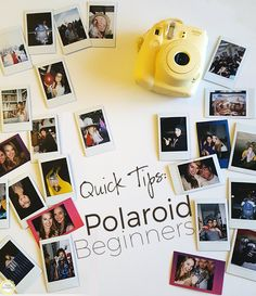 Have you recently gotten a Polaroid camera? Here are some quick tips to help out those instant photo beginners!