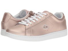 LACOSTE LACOSTE - CARNABY EVO 117 3 (LIGHT PINK) WOMEN'S SHOES. #lacoste #shoes #