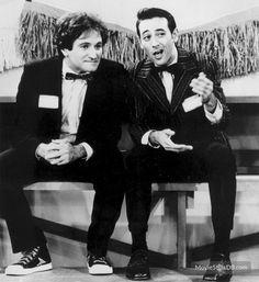 Mork & Mindy - Publicity still of Robin Williams & Paul Reubens