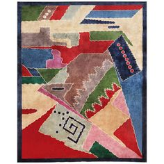 Art Deco Chinese Carpet | From a unique collection of antique and modern chinese and east asian rugs at https://www.1stdibs.com/furniture/rugs-carpets/chinese-rugs/