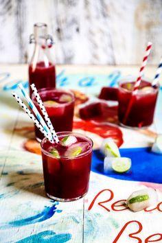 Watermelon Cranberry Vodka Cocktail Recipe