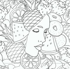Adult Coloring Book, Printable Coloring Pages, Coloring Pages, Coloring Book for Adults, Instant Download, Faces of the World 2 page 10