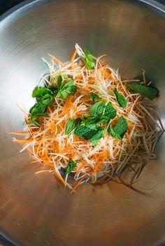 It's crunch time, thanks to this spicy, Filipino-Thai papaya salad.
