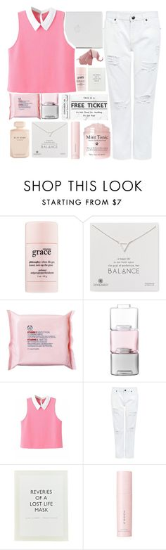 """""""Stop Thinking"""" by abby-aqua ❤ liked on Polyvore featuring philosophy, Dogeared, The Body Shop, LSA International, Edit, ...Lost, SUQQU and Elie Saab"""