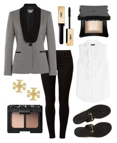 """work day equestrian"" by eqlmag on Polyvore featuring Dorothy Perkins, Boutique Moschino, Polo Ralph Lauren, Gucci, NARS Cosmetics, Tory Burch, Illamasqua, Yves Saint Laurent, horses and equestrian"