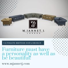 Furniture must have a personality as well as be beautiful!  📣 Visit our #website to find more about our products 🤜www.mjannetj.com  🛋️ 🛋️ 🛋️ #Mjannetj #ChesterfieldSofa #Sofas #LuxuryBrand #Leathersofa #sofas #sofa #decor #interiordesign #furniture #design #homedecor #leatherchesterfieldsofa #chesterfeildsofa #buttonedsofa #handcraftedsofa #britishdesign #luxuryfurniture #luxury #luxueyinterior #luxurysofa #interiordurniture #tuftedsofa #classicsofa #vintagesofa #sofa #leathersofa