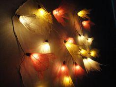 20 Sunshine Bodhi Leave Flower Fairy Lights