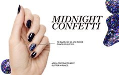 Midnight Confetti Nails  http://rstyle.me/n/dnitvp