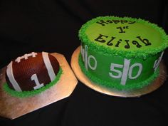 birthday football field and smash ball cake - 9 inch field cake w/ ball smas. birthday football field and smash ball cake – 9 inch field cake w/ ball smash cake. Football First Birthday, 1st Boy Birthday, First Birthday Parties, Birthday Ideas, Birthday Cakes, Football Themes, Football Banquet, Kids Football, Cakes For Boys