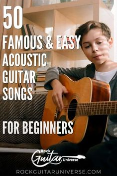 If you just started playing on an acoustic guitar and looking for new awesome and easy songs to learn. Then you must check these 50 famous & easy acoustic guitar songs for beginners. #guitar #acoustic #beginner #songs Guitar Tabs And Chords, Easy Guitar Tabs, Guitar Tabs Songs, Learn Guitar Chords, Guitar Chords Beginner, Easy Guitar Songs, Learn To Play Guitar, Guitar Tips, Learn Guitar Beginner