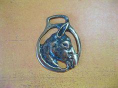 Vintage Horse Saddle Brass