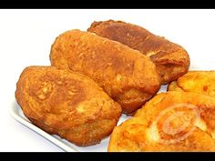 Reteta Langosi - Adygio Kitchen - YouTube Romanian Food, Romanian Recipes, Doughnuts, Snack Recipes, Food And Drink, Appetizers, Desserts, Breads, Youtube