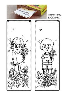 printables for kids Crafts For Kids, Arts And Crafts, Mother And Father, Book Activities, Teaching Kids, Bookmarks, Fathers Day, Coloring Pages, Bookends