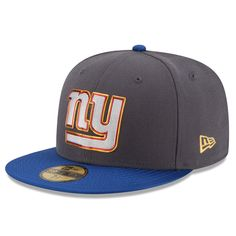 ea448b9fad6 New Era New York Giants Graphite Royal Gold Collection On Field 59FIFTY  Fitted Hat