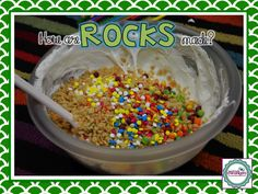 The ROCK Buffet - tons of ideas for teaching all about rocks and minerals! Hope King