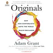 I finished listening to Originals: How Non-Conformists Move the World by Adam Grant, Sheryl Sandberg - foreword, narrated by Fred Sanders, Susan Denaker on my Audible app. Try Audible and get it free. Adam Grant, Books To Read, My Books, Best Audiobooks, Change The World, Reading Online, Books Online, New York Times, Free Books