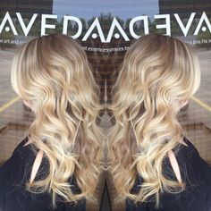 Color and Cut designed by Amberly Colina at American Salon. Gainesville, Georgia. 770.536.4247  #blonde #aveda #balayage