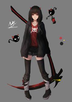 Demon Girl Shimmer