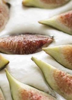 Tarte de Mascarpone e Figos Frescos