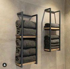 Towel Holder Towel Rack Towel Storage Bathroom Towel Rack | Etsy Bathroom Design Luxury, Modern Luxury Bedroom, Home Room Design, Best Home Interior Design, House Rooms, Bathroom Inspiration, Diy Home Decor, Furniture Design, Diy Furniture