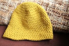 Mr. & Mrs. Toews: Craft Time: Crochet Hat Tutorial