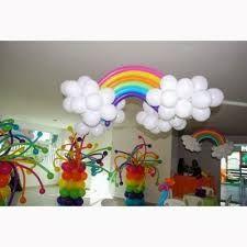 Resultado de imagem para arco iris de bexiga