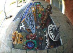 U.C - 3D Pavement Art | Liverpool