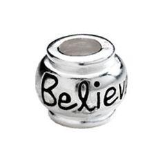 Kera™ Believe Sterling Silver Bead $24.99