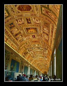 Museo Vaticano - Galería de los mapas