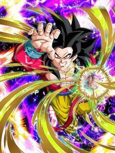 Goku ssj 4 dragon fist