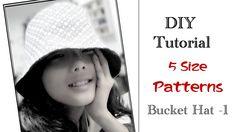 漁夫帽的製作-----Bucket Hat 1
