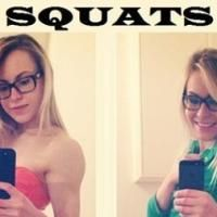 Girls Who Squat Before And After. Girls Who Squat, Squat Workout, Home And Away, Get In Shape, Stay Fit, Fitspiration, Squats, Fitness Models, Beauty