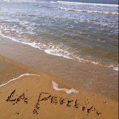 La Percha #jenaaminhetzand #yournameinthesand