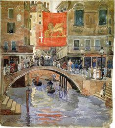 Venice - Maurice Pendergast