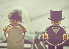 おもちゃみたい♡『LEGO』がテーマの結婚式が可愛い! | marry[マリー]
