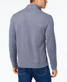 Tommy Bahama Men's Cold Springs Mock Neck Sweater, Created for Macy's - Purple 3XL