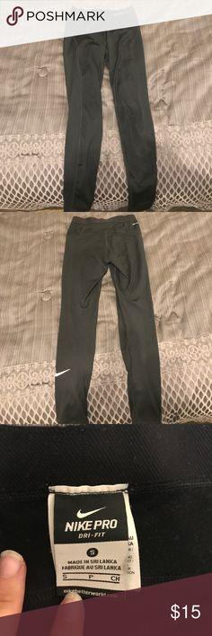Nike Pro Dri Fit yoga pants Nike Pro Dri Fit yoga pants Nike Pants Track Pants & Joggers