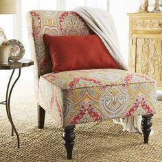 Pink Medallion Chair