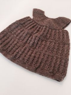 Kjole. Sandnes Garn // Knitted dress
