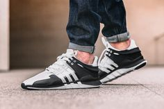 detailed look 401b5 a249c This Black  White adidas EQT Support ADV 91-16 is Ultra Limited. Zwart  WitZelf