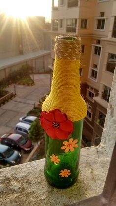 A simple vase or a plant holder oozing positivism wherever placed