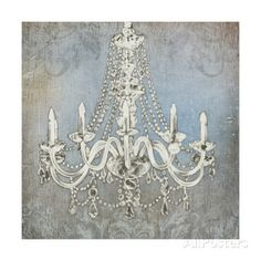 Great Art Now - Luxurious Lights II by James Wiens Canvas Wall Art Painting Frames, Painting Prints, Fine Art Prints, Paintings, Painting Canvas, Chandelier Art, Chandeliers, Silver Chandelier, Canvas Wall Art