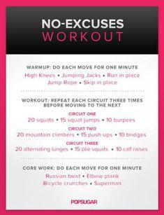 Ashley Bines workout!