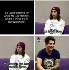 "I love how they have Jaime afterwards just like ""God, Vic."""