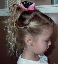 jardindejoy: Little Girl's Hairstyles -Fancy Easy Updo for your big or little gal! 15-20 min