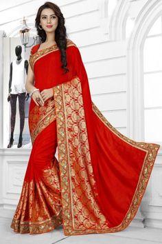 09bdc0bad4 Wedding Wear Sarees Online, Buy Wedding Saree Shopping, Lastest Wedding  Wear Sari – Andaaz Fashion