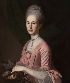 Charles Willson Peale (American, 1741–1827). Elizabeth McClure or Cecil Carnan, Mrs. Mordecai Gist, 1774–75.