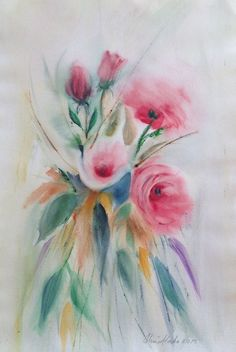 Watercolor 2015, Olavi Alanko