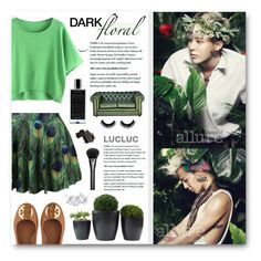 """""""Clara's #327 - G-Dragon"""" by claraclo19 ❤ liked on Polyvore featuring Tory Burch, Gucci, Agonist, Bobbi Brown Cosmetics and Home Decorators Collection"""